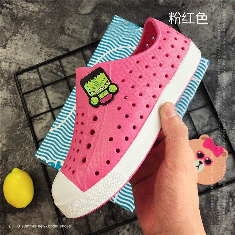 2019 Nova Crianças Croc Sapatos Scarpe Nativ