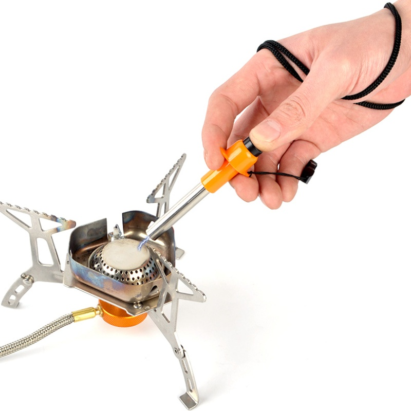 Practical BBQ Lighter Electricity Piezo Igniter Outdoor Camping Gas Fire Igniter Furnance Lighter  Stove Burner Lighter