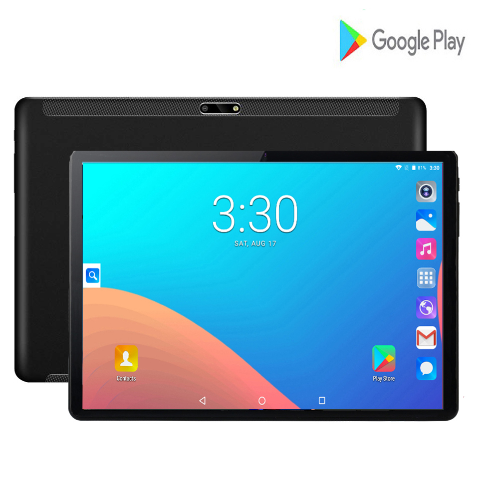 2020 New Design 10 Inch Android 9.0 Tablet Pc 2GB And 32GB Dual SIM Card 1280*800 HD Large Screen Dual Camera 4 Core Tablets