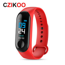 Smart Sport Bracelet Wristband Blood Pressure Heart Rate Monitor Pedometer Smart Watch For apple huawei samsung watch(China)