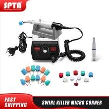 "SPTA 1/2"" (13mm) Swirl Killer Micro Corner Mini Car Polisher  Car Detailing Polisher for Small Place polishing, cleaning"