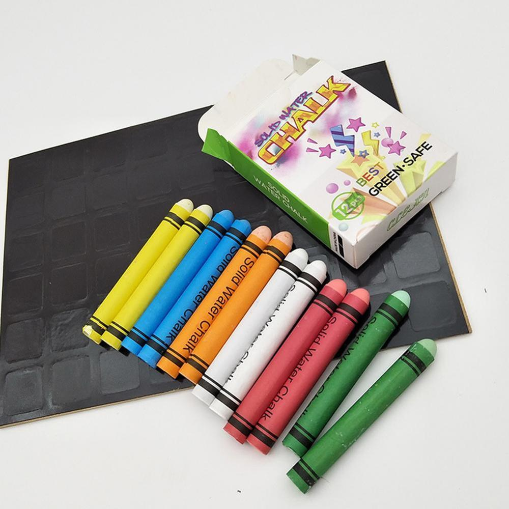 Dustless Chalks Pen Drawing Chalk Pens Holder For Teachers Blackboard Stationary Office School Education Supplies Accessories