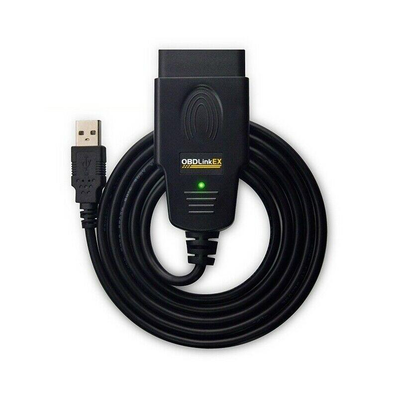 OBDLink EX 429101 OBD-II / OBD 2 сканирующий инструмент USB для сканирования с программным обеспечением OBDwiz