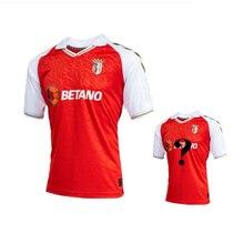 Men S-4XL SC Braga shirt 2020 21 Camisola Equipamento Principal 20/21 Customized ID Braga Shirt High quality sc Braga Jersey