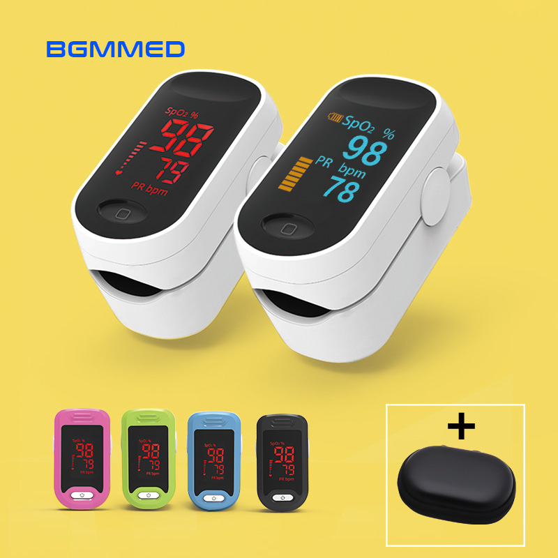 Medical Digital Pulse Oximeter LED Oximetro blood oxygen Heart Rate Monitor SpO2 Health Monitors Oximetro De Dedo image