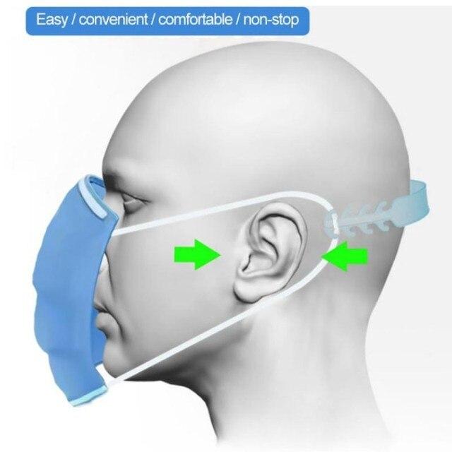 Επέκταση για μάσκες προστασίας με παιδικά σχέδια από σιλικόνη