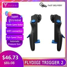 Flydigi Trigger 2 Handy Sriggers Zubehör Gamepad Controller für Android & Ios Cod Mobile Pubg