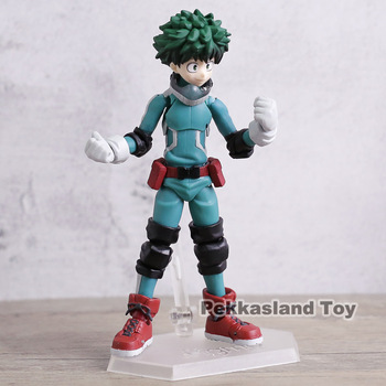 My Hero Academia Midoriya Izuku Figma 323 PVC Action Figure Collectible Model Toy Brinquedos 2
