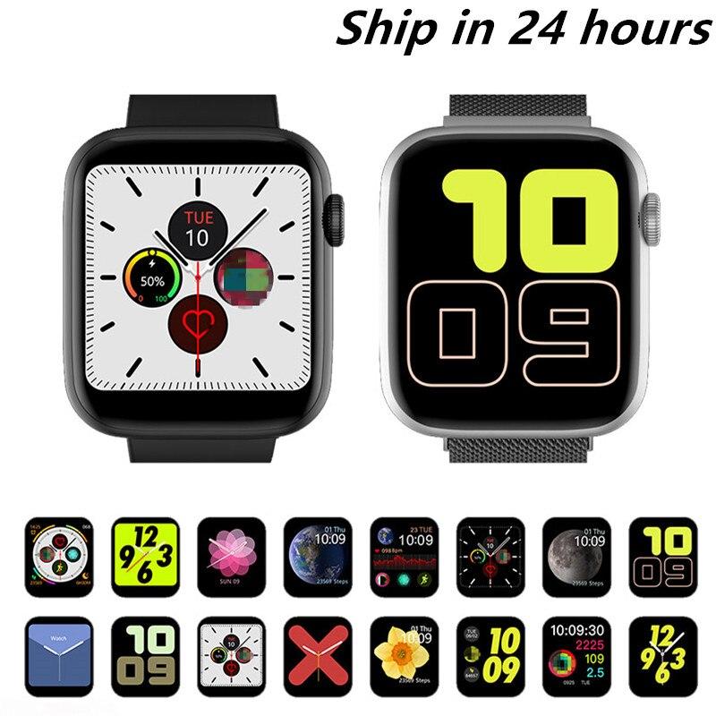 2020 Hot IWO 13 MAX Smart Watch Bluetooth Phone Call Watch Waterproof 22 mm Exchange Strap ECG Heart Rate Sport Band PK T500 P18