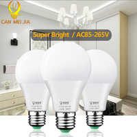 E27 lampa Led AC85-265V mocy żarówki Led światła 3W 5W 7W 9W 12W 15W 18W ampułki Bombillas reflektory punktowe LED do oświetlenia domu 4 sztuk/paczka