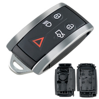 5 Buttons Remote Smart Keyless Car Key Fob Case Shell Fit for Jaguar XF / XK  / XKR / X-Type / S-Type 2007 2008 2009 2010 2012