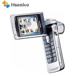 Мобильный телефон Nokia N90, 100% оригинал, 2 дюйма, GSM 3G, Bluetooth, 2 МП, разблокированный Восстановленный телефон, бесплатная доставка