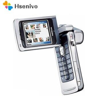 Перейти на Алиэкспресс и купить 100% оригинальный мобильный телефон Nokia N90 2.'дюймовый GSM 3G Bluetooth 2.0MP разблокированный Восстановленный телефон Бесплатная доставка
