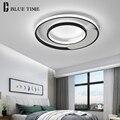 Современные светодиодные потолочные лампы для столовой  гостиной  спальни  прямоугольные светильники  заподлицо  потолочные лампы  внутрен...