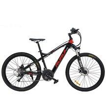 Bicicleta de montaña eléctrica con ruedas de 27,5 pulgadas, e-bike MTB con batería de litio de 48V, motor de alta velocidad de 250W, amortiguadores Air Shock, autonomía máxima de 100km