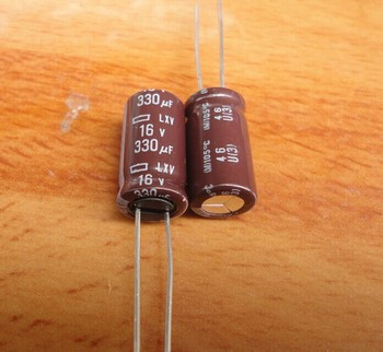 цена на 50pcs/lot Original JAPAN NIPPON LXV series 105C high frequency capacitor aluminum electrolytic capacitor free shipping