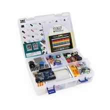 Самый экономичный стартовый электронный DIY набор с обучающим руководством, совместимый с Arduino IDE UNO R3 CH340
