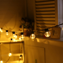 Уличный Сказочный светильник s гирлянда 10 м 38 Светодиодный светильник-Гирлянда для сада патио свадебное Рождественское украшение, легкая цепочка водонепроницаемая