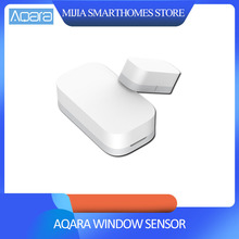 Sensor de puerta de ventana inteligente Xiaomi AQara ZigBee conexión inalámbrica trabajo multiusos con Xiaomi casa inteligente mi jia/mi aplicación para hogares