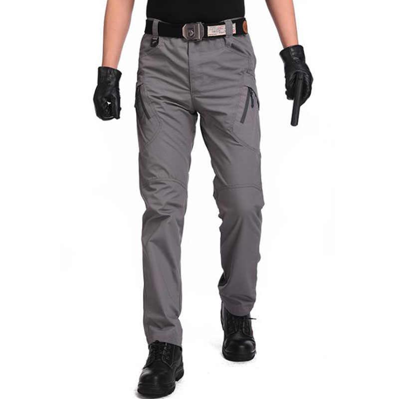 Pantalones de jogging tácticos a prueba de agua para hombre, pantalones militares de trabajo del ejército, pantalones Cargo de camuflaje para exteriores, primera marca informal Topwinner