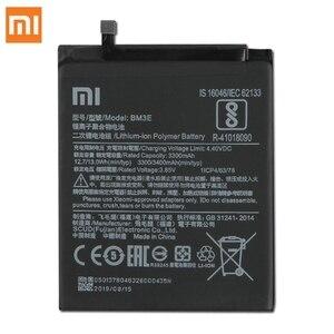 Image 2 - Originale XIAOMI BM3E Batteria di Ricambio Per Xiaomi 8 MI8 M8 MI 8 Autentico 3400mAh Batteria Del Telefono