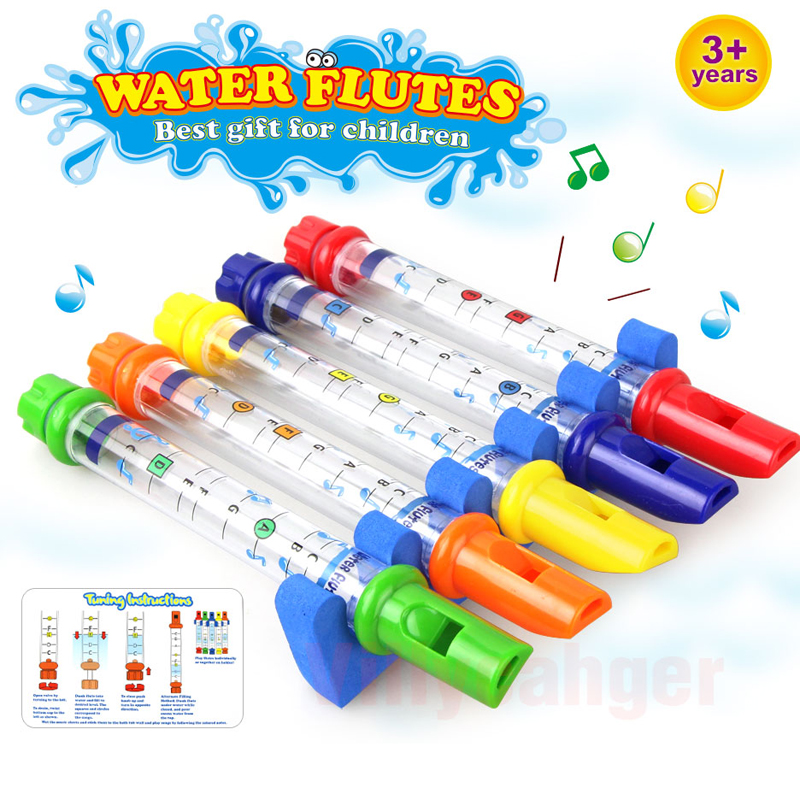 Five-color Musical Toys For Children Puzzle Early Education Bathroom Bath Kids Toys Baby Playing Music Gift