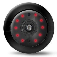 720P Mini Ip Wifi Camera Wireless Hd 180° Hidden Home Security Cam Night Surveillance Cameras-EU Plug Monitor