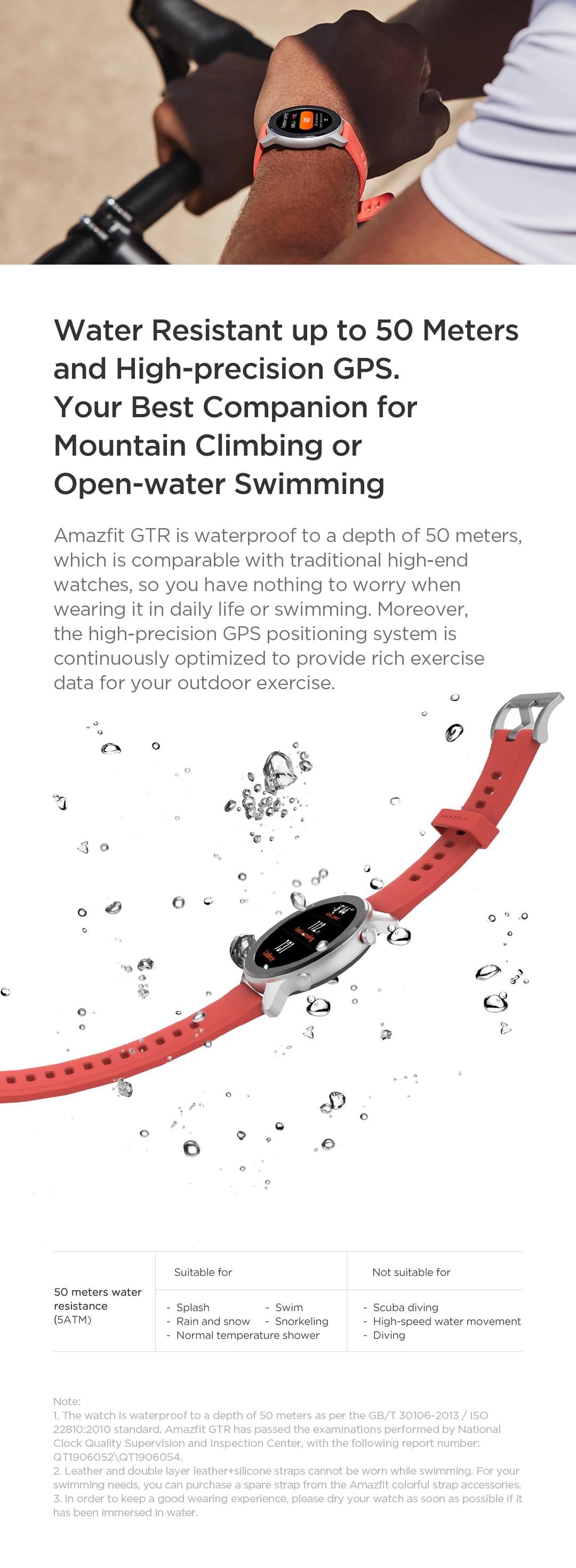 Amazfit GTR 42mm Smart Watch