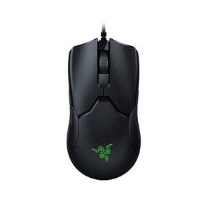 Image 1 - Razer Víbora Wired Gaming Mouse 16000DPI Ratos de Computador RGB PAW3390 60g Leve Cabo SpeedFlex DPI Sensor Óptico para PC