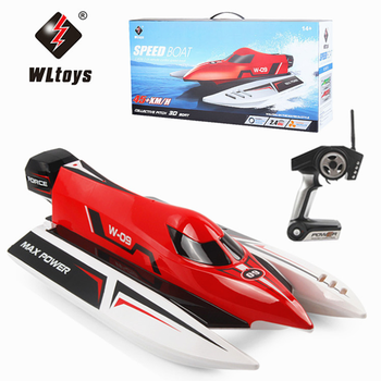 WLtoys WL915 RC Boat 2.4Ghz 2CH 45km/h Brushless High Speed Racing Boat Model Speedboat Kids Gifts RC Toys 1