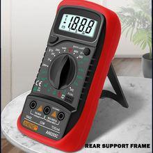 An8205c portátil elétrico digital multímetro backlight ac dc amperímetro voltímetro ohm tester medidor handheld voltímetro lcd voltímetro volt