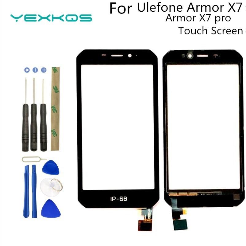 Дигитайзер UleFone Armor X7 pro с сенсорным экраном 5,0 дюйма, отличная сменная Сенсорная панель TP для UleFone Armor X7, Armor X7 Pro