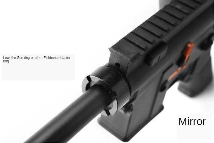 Уличные спортивные тактические водяные пулевые пулеметы обновление материала передача кольцо вогнуто-Выпуклое стабилизационное кольцо J9