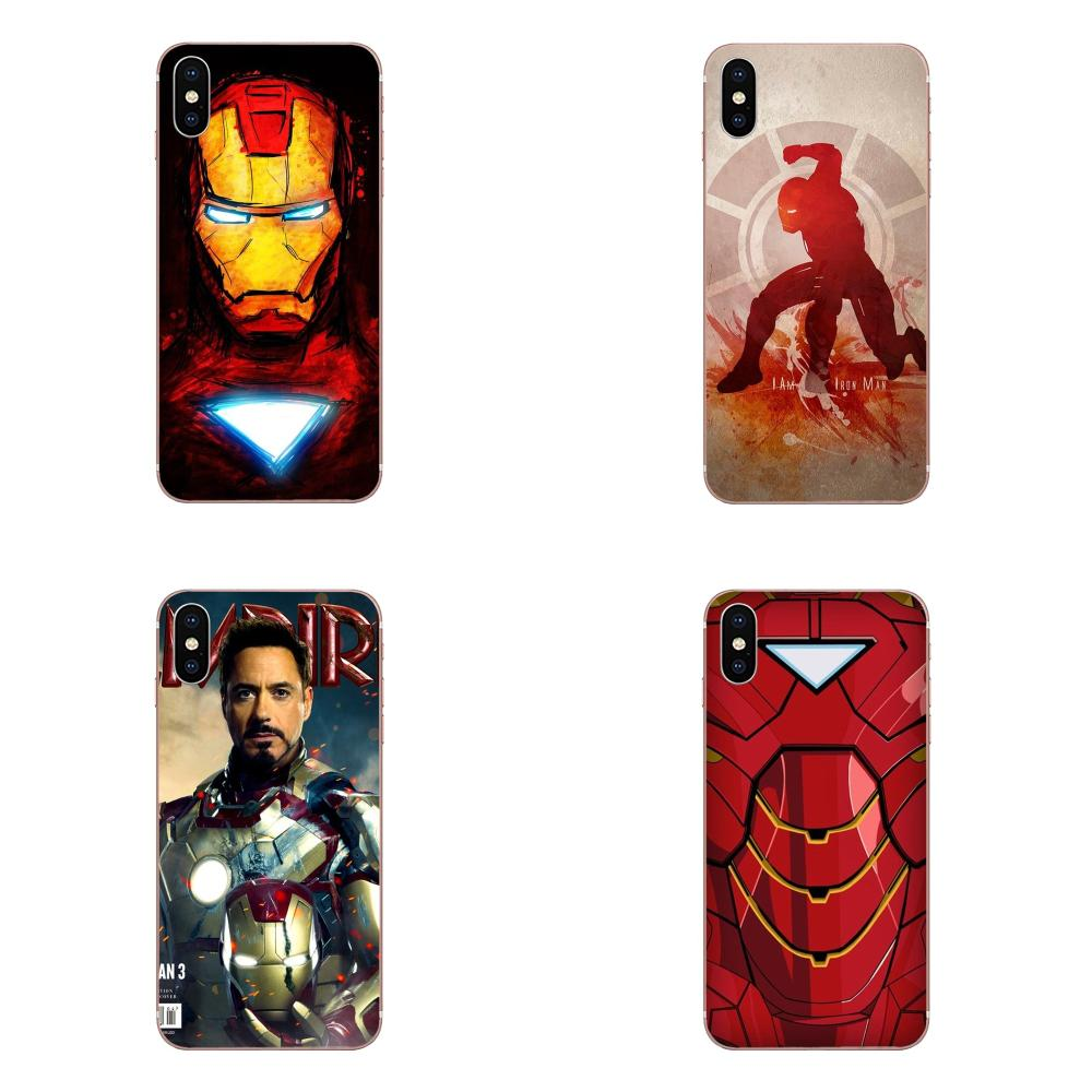 Iron Man Robert Downey Jr For Xiaomi Redmi Mi 4 7A 9T K20 CC9 CC9e Note 7 9 Y3 SE Pro Prime Go Play Style Design image