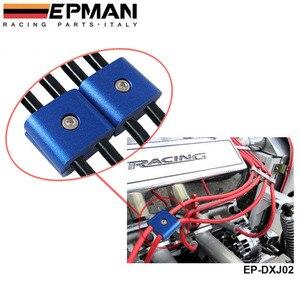 2 ENGINE SPARK PLUG WIRE SEPARATOR DIVIDER CLAMP FOR CAR MOTORCYCLE BIKE EP-DXJ02