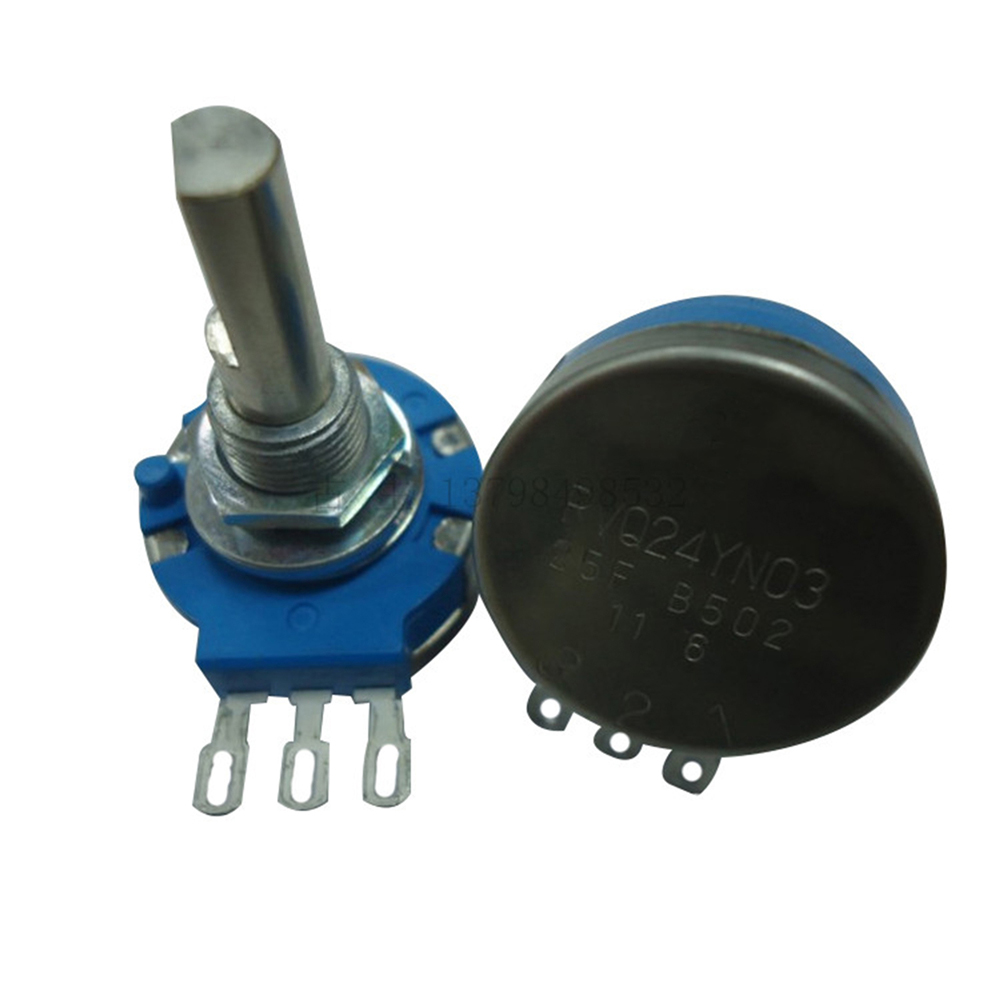 For TOCOS Potentiometer RVQ24YN03 25F B502 5K Ohm Long Life Panel Controls Rotary Potentiometer For Games Console Accessories