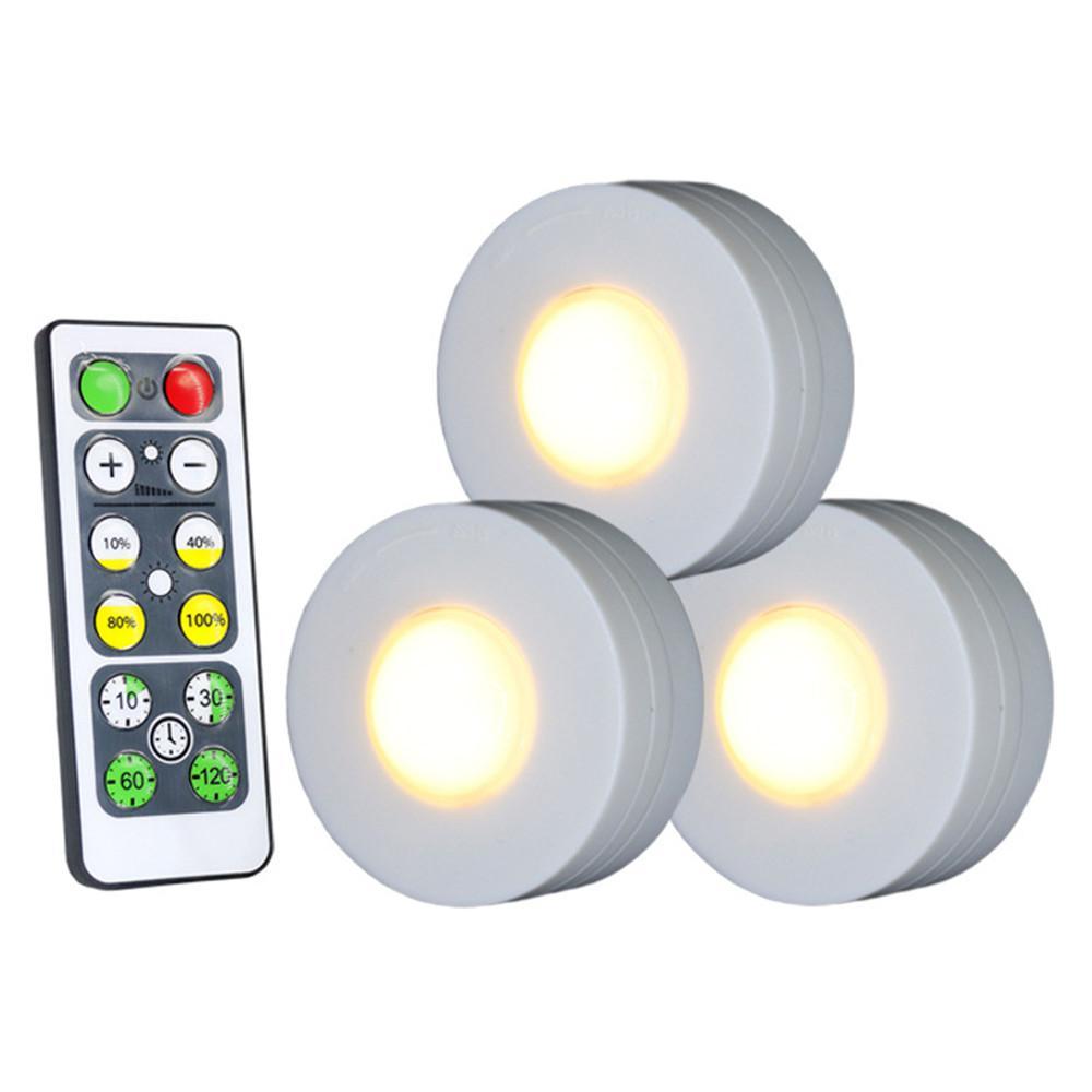 Неподключенный беспроводной Аккумуляторный светильник со светодиодным пультом дистанционного управления pat маленький ночной Светильник