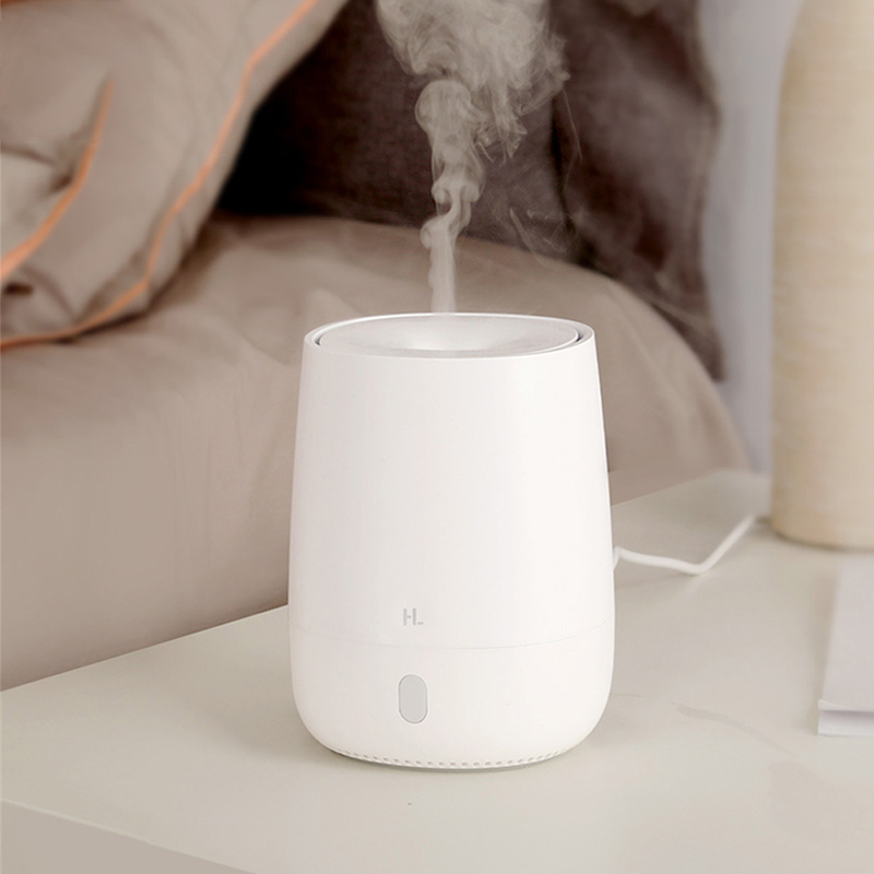 120ML Mini USB Ultrasonic Air Humidifier For Xiaomi Youpin Essential Oil Aroma Diffuser Mute LED Light Air Purifier Mist Maker
