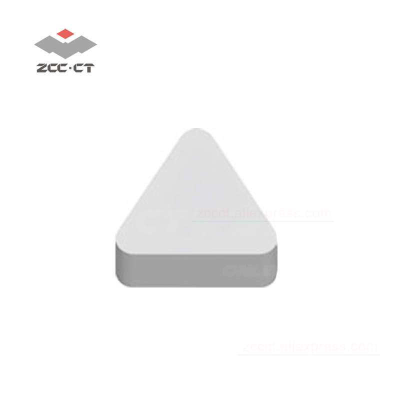 10pcs TNGN160708T02020 CN2000 ZCC.CT turning tool plate cnc machinery cutter lathe tools ceramic tip for high hardness workpiece