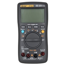 BSIDE ZT100 Digital Multimeter True RMS Auto Range Multimetro Voltmeter Ammeter Capacitance Temperature Ohm HZ NCV Tester holdpeak hp 870n auto range multimetro digital clamp meter multimeter pinza piers ammeter amperimetro true rms frequency tester