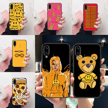 Drew Justin Bieber Phone case For Huawei Honor View 6 7 8 9 10 10i 20 A C X Lite Pro Play black luxury cell cover tpu funda image
