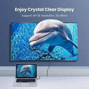 Image 3 - UGREEN Micro HDMI адаптер высокоскоростной Мужской и Женский HD 4K 3D для Raspberry Pi 4 GoPro Mini HDMI к HDMI адаптер 22 см HDMI кабель