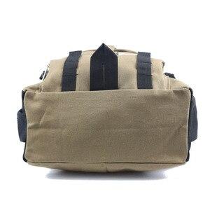 Image 4 - New backpack men Fashion strap zipper solid casual bag male backpack school bag canvas bag designer backpacks for men backpacks