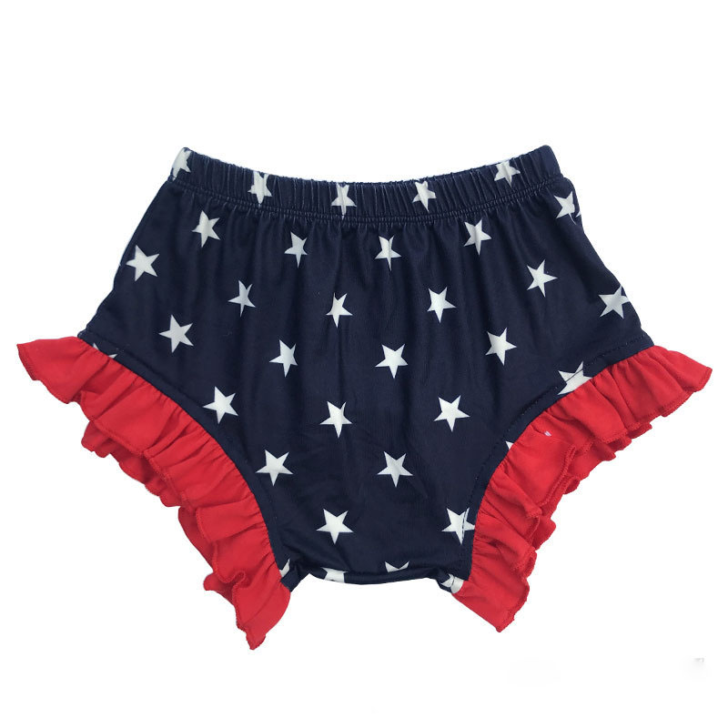 Baby Shorts Lucky Child Flora Bloomers Baby Diaper Cover Newborn Flower Shorts Girls Clothes