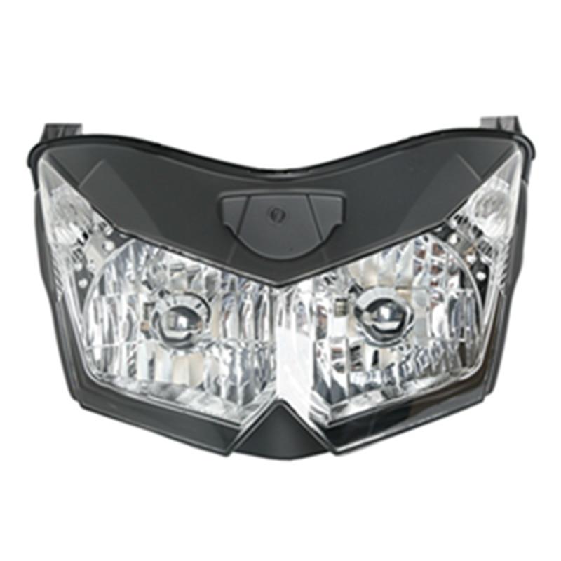 Motorcycle Headlight  Head Lamp Assembly House For Kawasaki Z1000 ZRT00B Z750 ZR750L  Ninja 250 EX250R