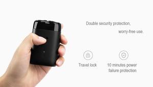 Image 5 - Xiaomi MIJIA rasoir électrique pour homme, Portable, étanche, Rechargeable par USB, 2 têtes flottantes, de rasage