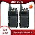 2 stücke Retevis RT622 RT22 Mini Walkie Talkie PMR Radio PMR446 FRS UHF Two Way Radio Tragbare VOX USB Lade handheld Transceiver-in Funkgeräte aus Handys & Telekommunikation bei