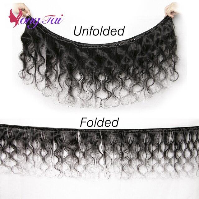 YuYongtai волосы бразильские волнистые волосы плетение пряди 100% человеческие волосы плетение 1/3 шт 8-30