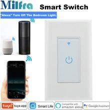Milfra wifi умный светильник переключатель нейтральный провод