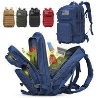 Large Capacity Man Army Tactical Backpacks Military Assault 50L Camping Rucksack Waterproof Sports Trekking Hunting Outdoor Bags